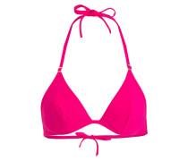 Triangel-Bikini-Top - pink