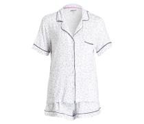 Shorty-Schlafanzug CLEAN SLATE - grau