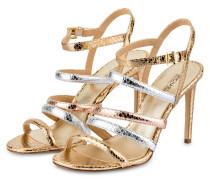 Sandaletten NANTUCKET - pale gold/ silver