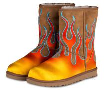 Fell-Boots CLASSIC SHORT - chestnut