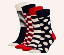 4er-Pack Socken mit Geschenkbox