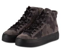 Plateau-Sneaker BIG - dunkelgrau/ khaki