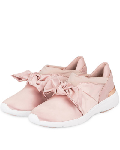 Satin-Sneaker WILLA - SOFT PINK