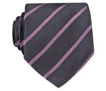 Krawatte - dunkelgrau