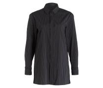 Long-Bluse - schwarz/ weiss gestreift