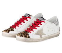 Sneaker SUPERSTAR - WEISS/ BEIGE/ BRAUN