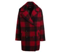 Mantel KYLIE - rot/ schwarz