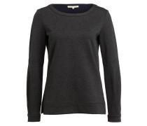 Sweatshirt - dunkelgrau meliert