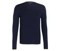 Cashmere-Pulllover - dunkelblau
