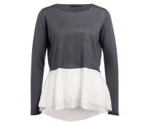 Cashmere-Pullover - anthrazit/ creme