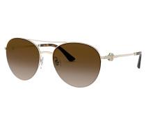 Sonnenbrille BV6132B mit Schmucksteinbesatz