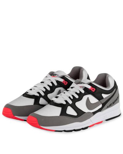 Nike Herren Sneaker AIR SPAN II - SCHWARZ/ WEISS/ GRAU