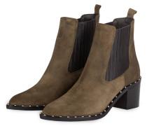 Chelsea-Boots mit Nietenbesatz