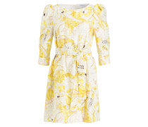 Kleid PAVONE - ivory/ gelb/ rosé
