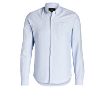 Oxfordhemd Slim-Fit - hellblau