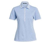 Piqué-Poloshirt CLEO - hellblau