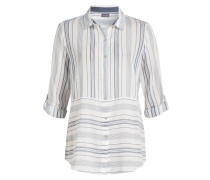 Bluse ADELA - weiss/ navy