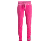 Sweatpants - pink/ silber