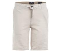 Chino-Shorts OSKAR mit Leinen
