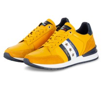 Sneaker - DUNKELGELB/ DUNKELBLAU