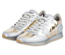Sneaker TROPEZ - silber/ gold