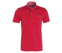 Piqué-Poloshirt CLAY - rot