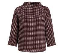 Pullover GALVI - burgunder/ schwarz