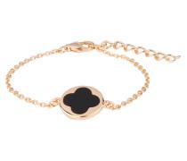 Armband ALBA - roségold/ schwarzer onyx