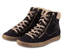 Hightop-Sneaker - navy