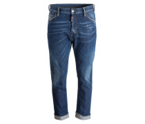 Jeans GLAM Straight-Fit - blau