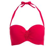 Bandeau-Bikini-Top - rot
