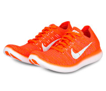 Laufschuhe FREE RUN FLYKNIT - orange