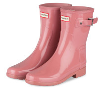 Gummi-Boots ORIGINAL SHORT GLOSS - rosa