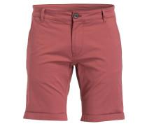 Chino-Shorts SHHPARIS - rot