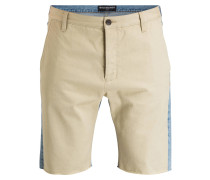 Shorts - 4009 blue/ beige