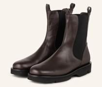 Plateau-Boots - GRAU
