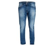 Jeans STEVE Slim Tapered-Fit - blau