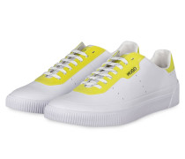 Sneaker ZERO TENN - WEISS/ GELB