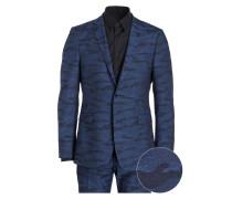 Anzug CALE-MADDEN Extra Slim-Fit - blau