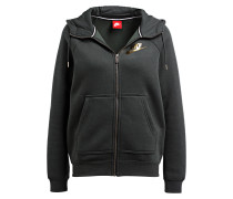 Sweatjacke RALLY METALLIC - schlamm