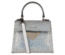 Handtasche - silber metallic