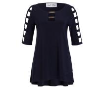 Shirt mit Cut-Outs - dunkelblau