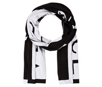 Schal - schwarz/ weiss
