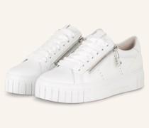 Plateau-Sneaker SUN - WEISS