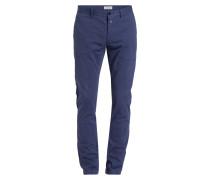 Chino CLIFTON Slim-Fit - blau