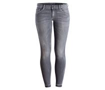 Skinny-Jeans SKARA - cool grey wash