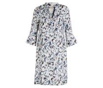 Kleid mit Seidenanteil - ecru