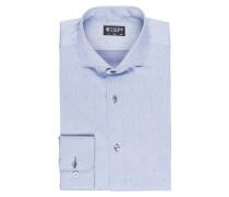 Hemd FARRELL 5 Slim-Fit - blaugrau
