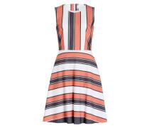 Kleid HIMELLY - rot/ blau/ weiss gestreift