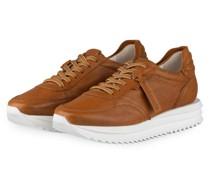 Plateau-Sneaker JAZZ - COGNAC
